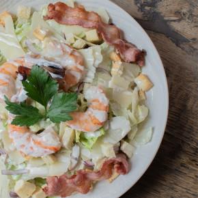 Salade César Crevettes
