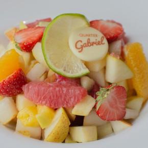 Assiette de Fruits et Sorbets