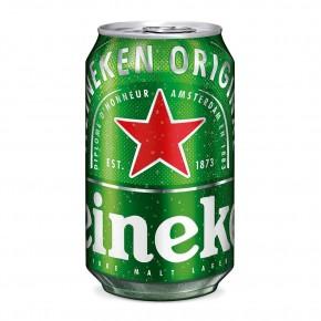 Heineken canette 33 cl